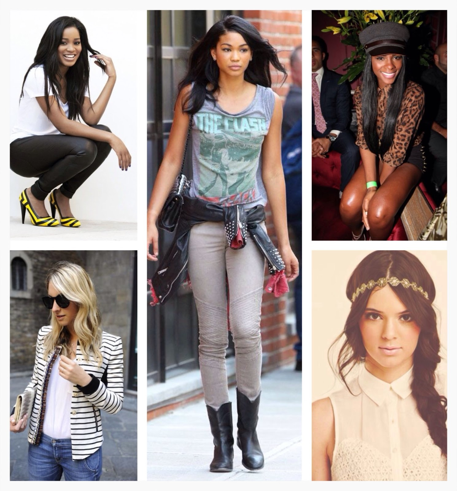 tika sumpter, kendall jenner pacsun, emily schuman, cupcakes and cashmere, keke palmer, chanel iman, vogue, super model