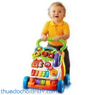 thuê đồ chơi baby, mướn đồ chơi, thuê đồ chơi trẻ em, đồ chơi trẻ em, thuê xe tập đi, cho thuê xe tập đi, xe tậpđi vtech