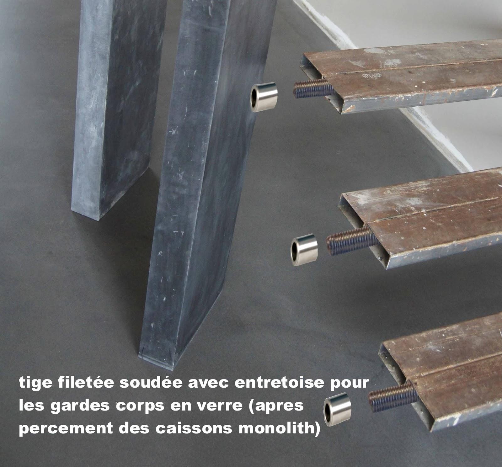 les escalier suspendu monolith en b ton cir floating. Black Bedroom Furniture Sets. Home Design Ideas