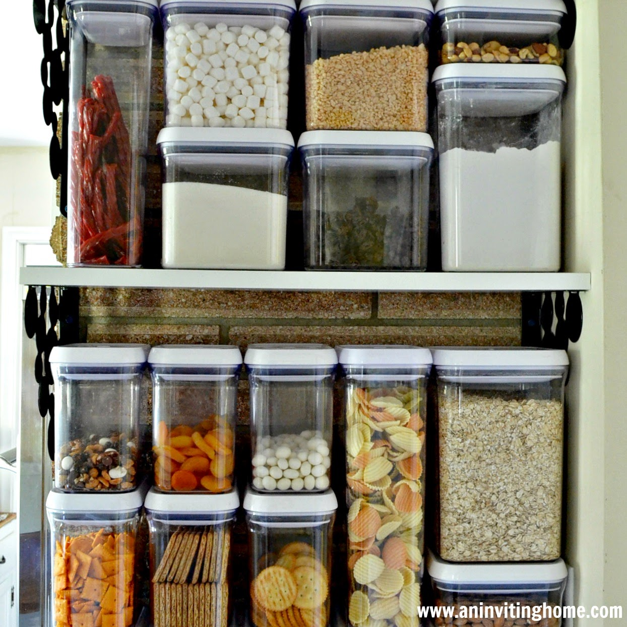 create your own pantry in the kitchen