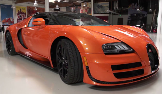 v deo bugatti veyron grand sport vitesse w16 car blog br. Black Bedroom Furniture Sets. Home Design Ideas