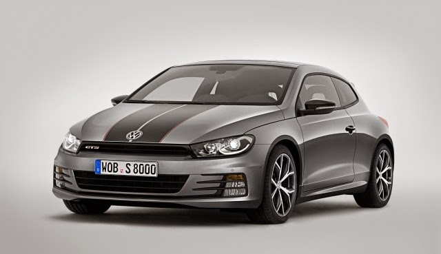 Volkswagen Scirocco GTS is prepared for launch in Shanghai