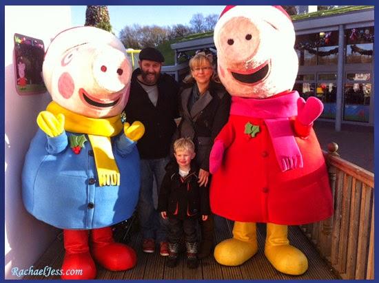 Peppa Pig World at Christmas