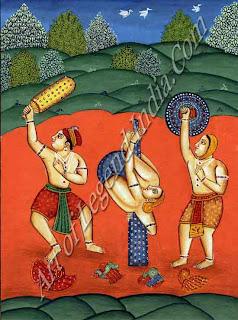 Raga Deshakha Painting