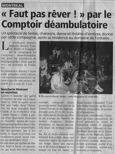 L'indépendant - 07/04/2012