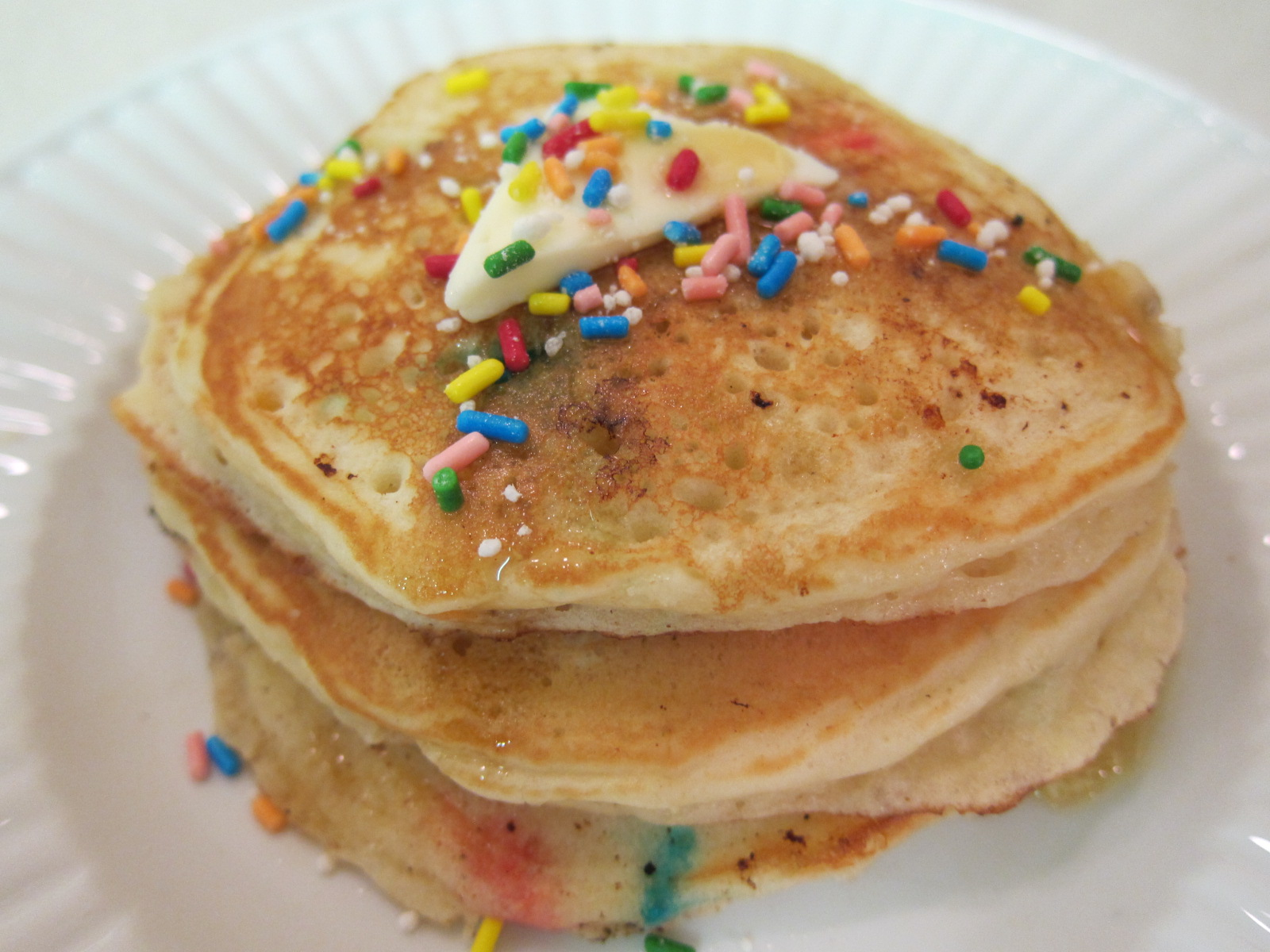 Pinch of This, That & the Other: Cake Batter Pancakes