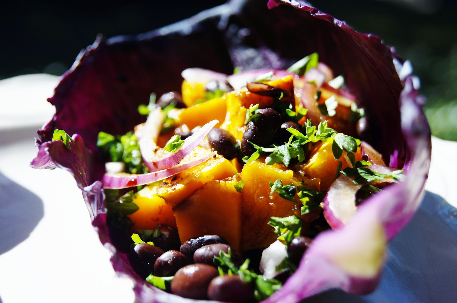 The Fresh Beet: Recipe Redux: Butternut Squash and Black Bean Burritos