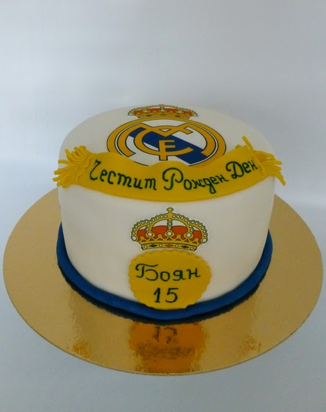 Birthday Cake Images Real : CakeSophia: Real Madrid cake