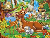 #6 Bambi Wallpaper