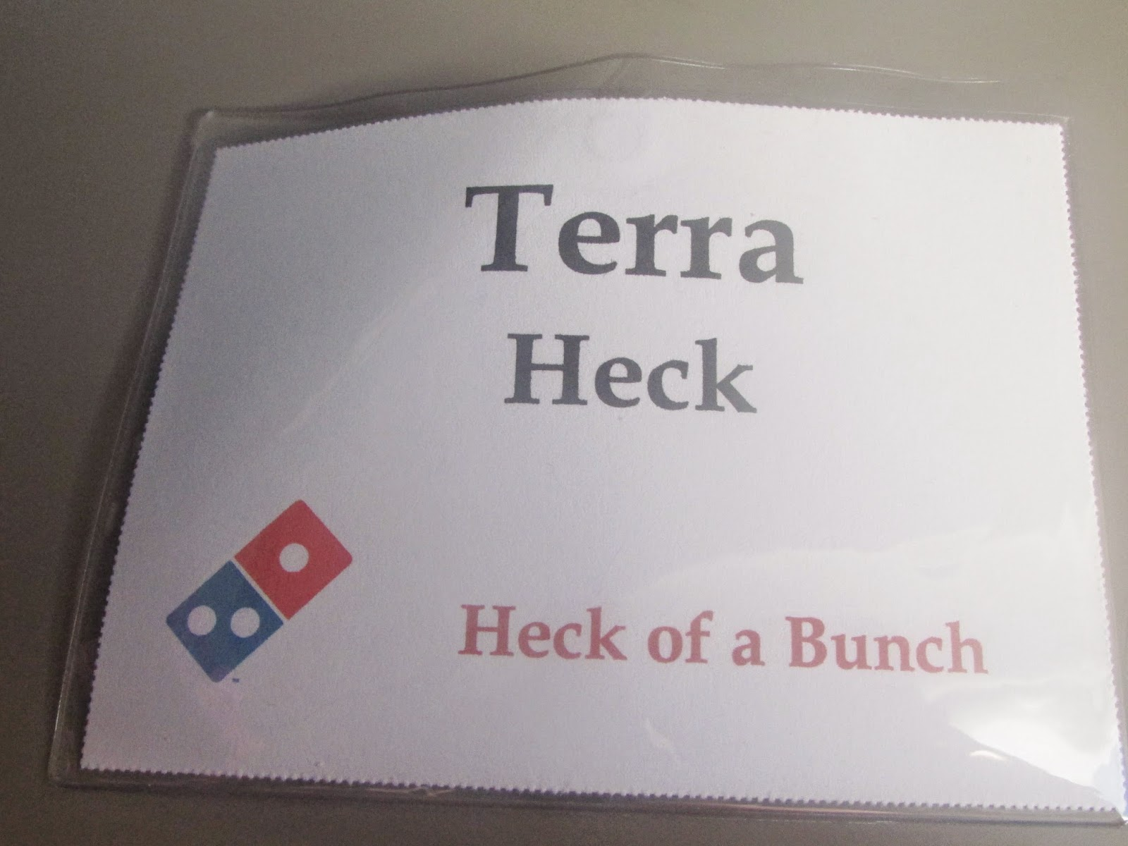Heck Of A Bunch: Behind the Scenes of Domino\'s Pizza - #DPZBloggerDay14