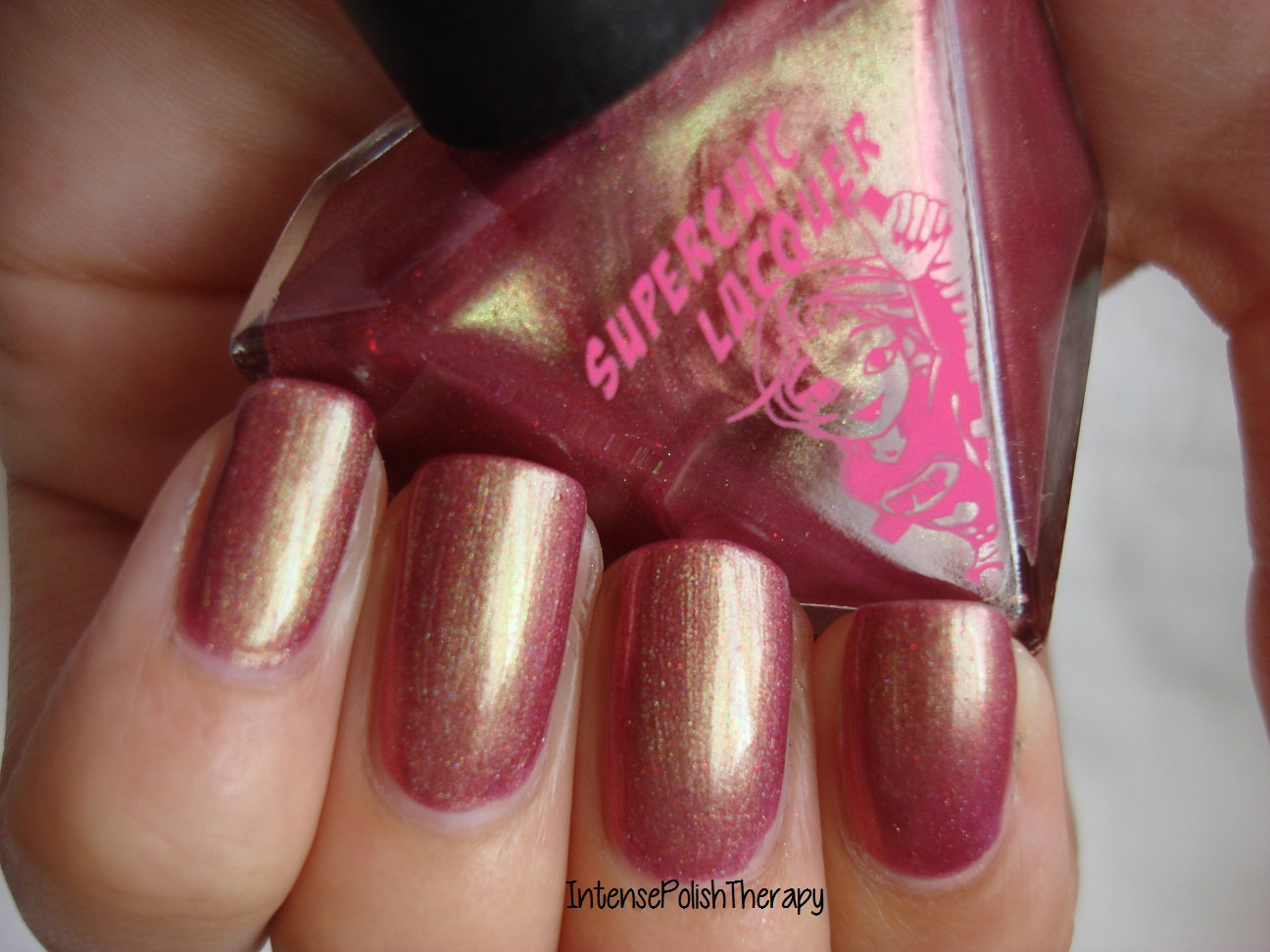 Superchic Lacquer - Golden Delicious Curse