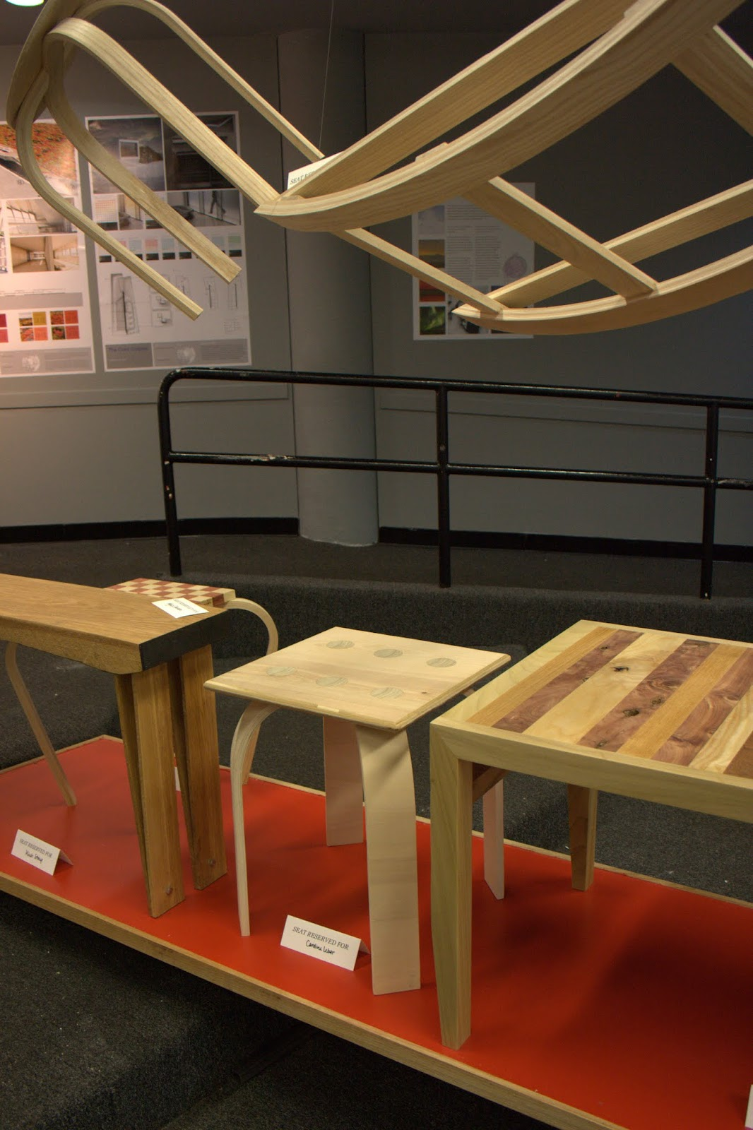 """Craft in the Digital Age - my """"seating unit"""" at center"""