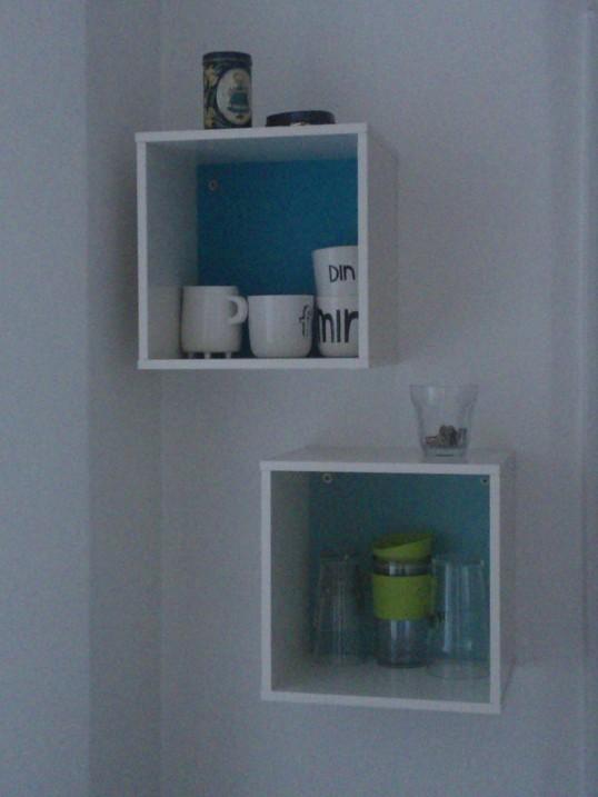 kasser til væg ikea