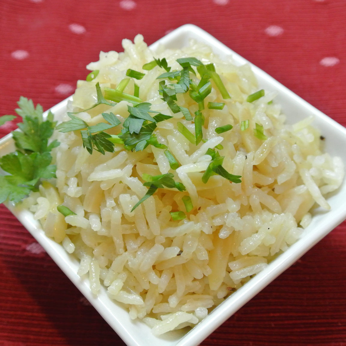 Mom, What's For Dinner?: Almond Rice Pilaf