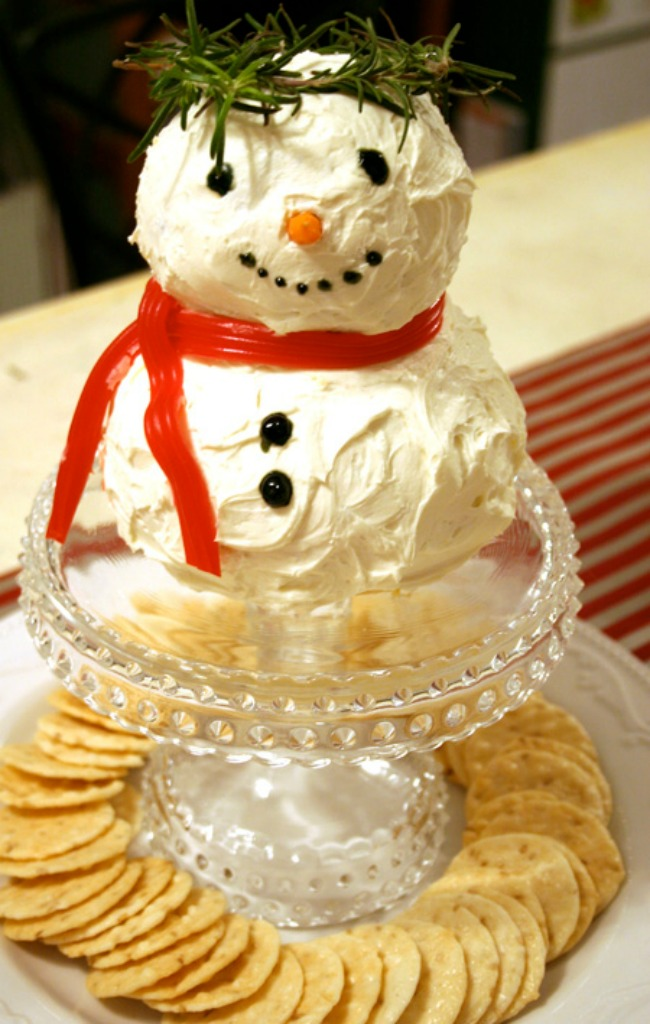 Christmas Party Fun Ideas Part - 49: 2. Cheese Snowman From Karladornacher