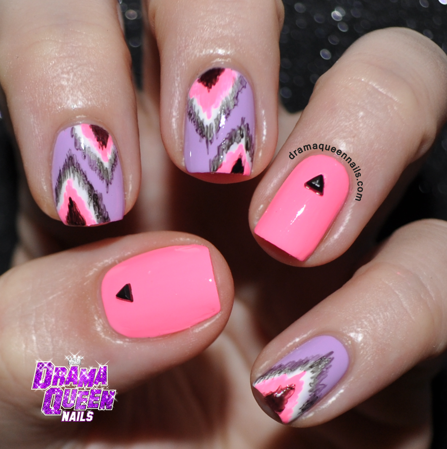 Drama queen nails nail art round up nail art round up prinsesfo Images