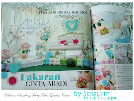 Stazurin Bridal Boutique Dalam Majalah Pesona Pengantin 2013