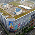 In China there are houses built on the roof of Shopping Mall!
