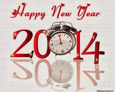 gambar jam tahun baru