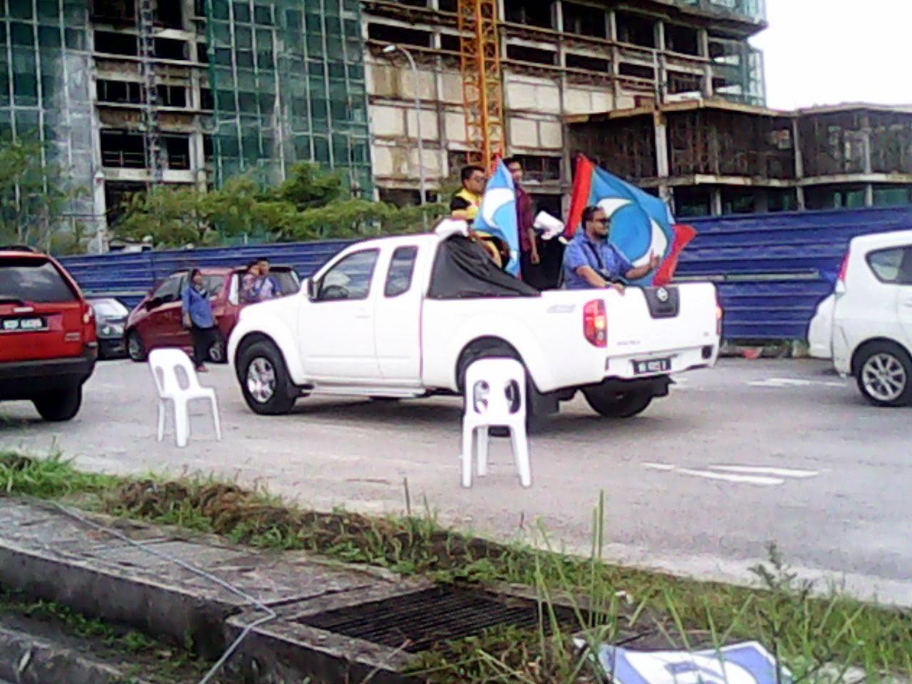 PANAS PROVOKASI PR Terus PINCANG Di PRKPermatangPauh kakwan4pp