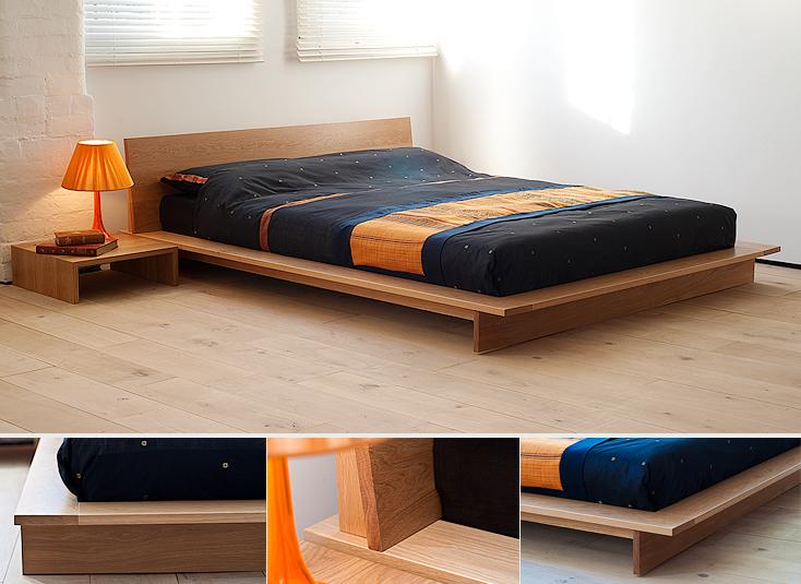 Tempat  tidur bergaya platform