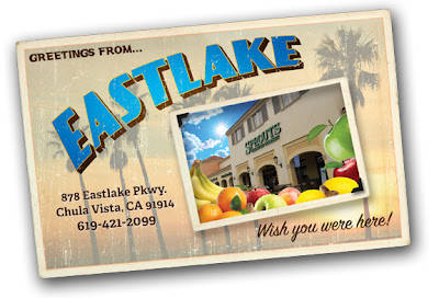 Farmers Market Postcard design for Sprouts Eastlake
