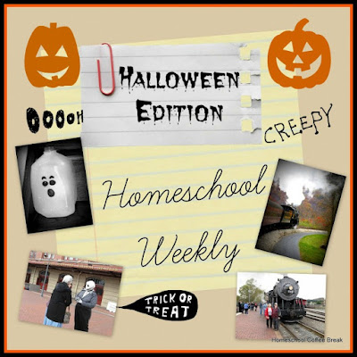 Homeschool Weekly - Halloween Edition on Homeschool Coffee Break @ kympossibleblog.blogspot.com
