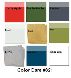 Color Dare #321 - Closes Thur Dec 13th