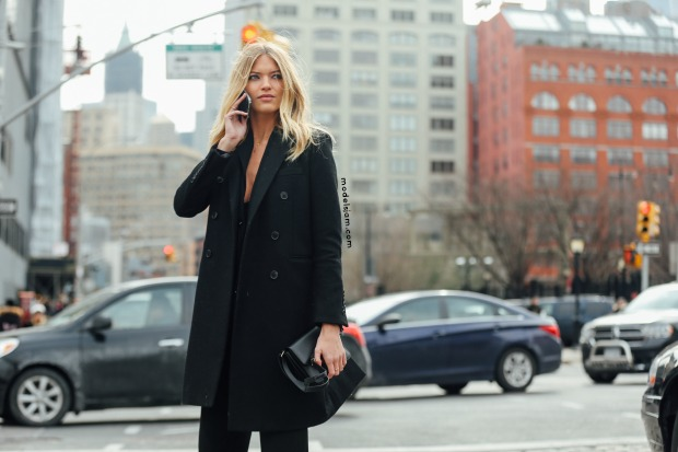 Martha Hunt, New York, February 2016