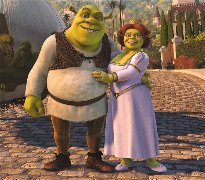 Wedding Week: 'Shrek': Happily Ever After Gets a Green ...