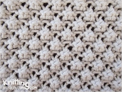 Trinity Stitch Aka Cluster 3 Stitch Knitting Stitch Patterns