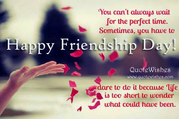Happy Friendship Day Sms 140 Words