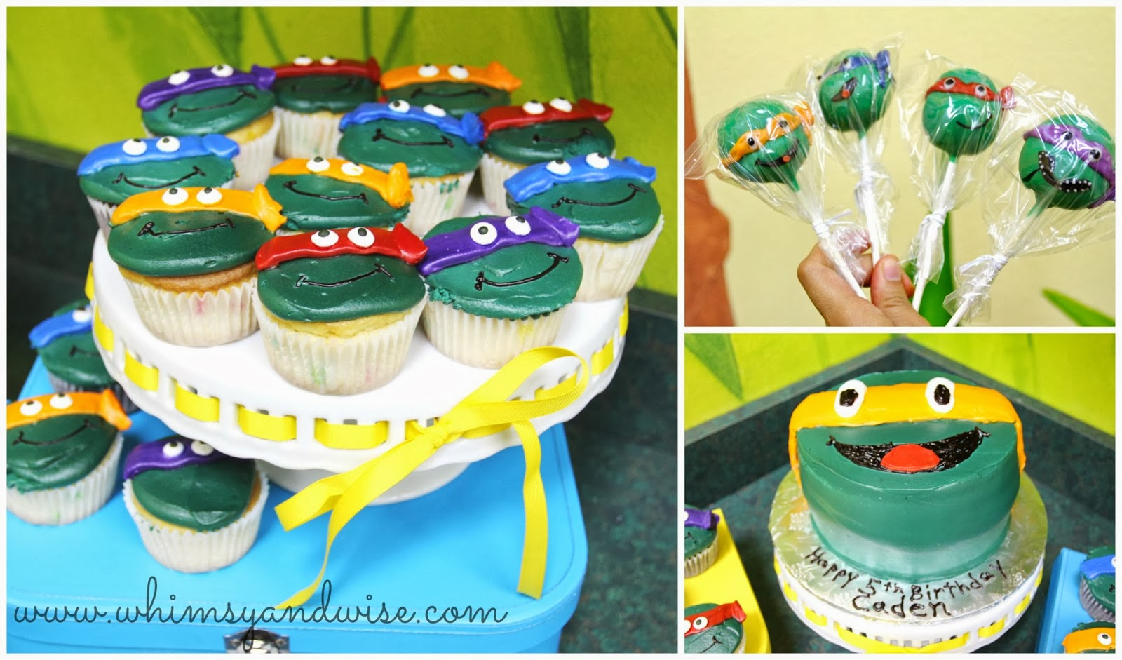 Whimsy Wise Events Cowabunga Dude Its a TMNT Birthday Party