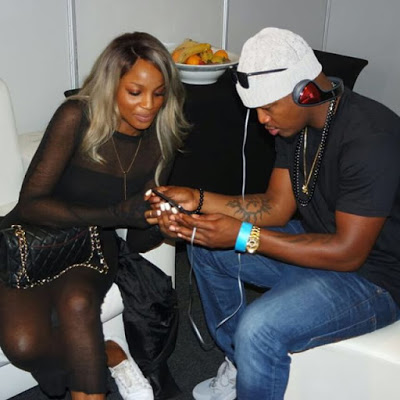 Seyi Shay Hangs out with Neyo at Pre-MAMAs