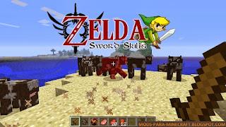 Zelda Sword Skills Mod para Minecraft 1.8