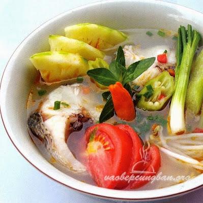 Cách nấu canh chua cá lóc Miền Tây