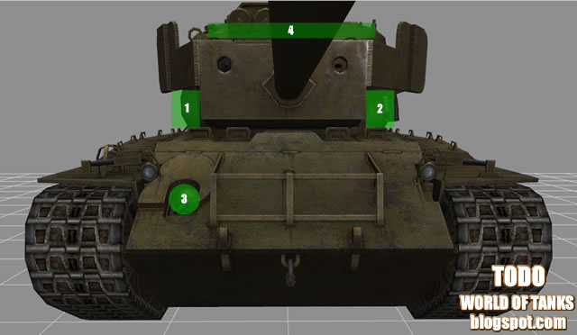 todo world of tanks T26E4 Super Pershing penetracion puntos debiles weak spots