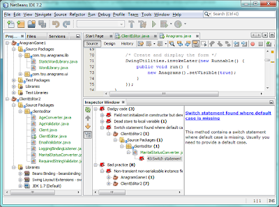Netbeans Interface