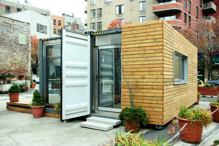 Shipping container homes meka west village container home - Cargo container homes ...