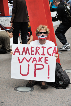 Occupy Wall Street Protestor
