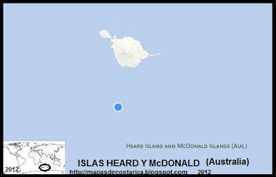 ISLAS HEARD Y McDONALD, Mapa de ISLAS HEARD Y McDONALD, BING