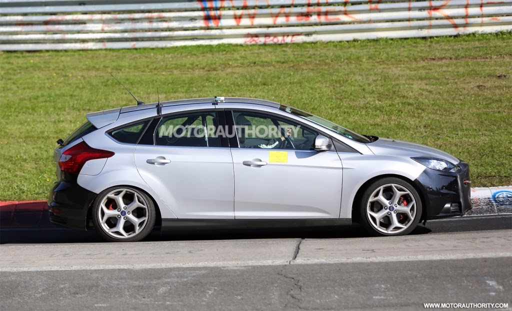 Sneak Peek: 2015 Ford Focus ST