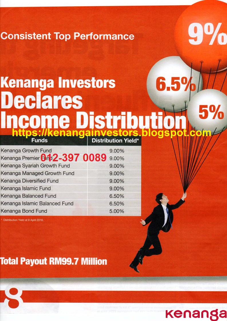 KENANGA INCOME DISTRIBUTION