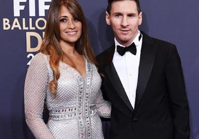 Messi dan Istrinya