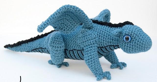 Chinese Dragon Amigurumi Pattern : The itsy bitsy spider crochet amigurumi dragon
