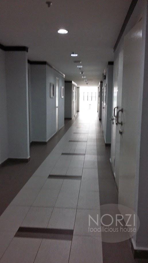 lorong di kawasan bilik