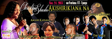 CHRISTINA SHUSHO LIVE ON THE STAGE OF CCC-UPANGA ON 24TH NOV 2013