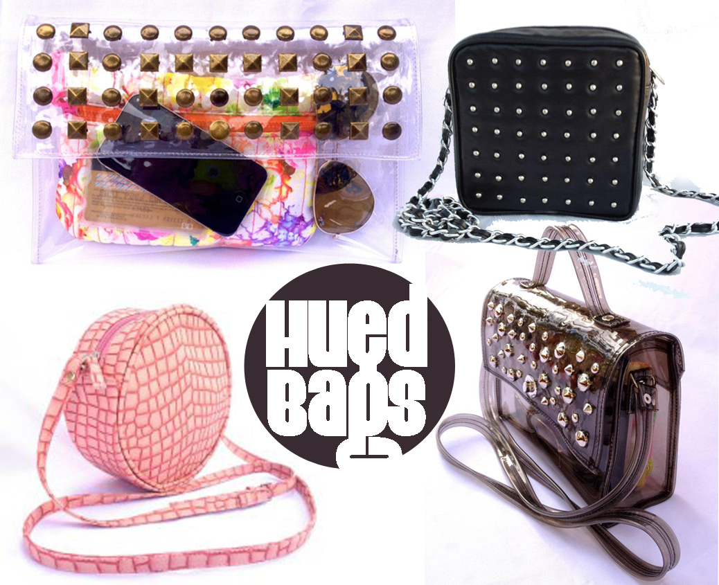 Hued Bags & Clutches