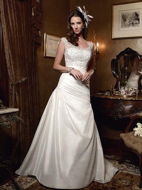 Wedding dress business off the shoulder wedding dresses for Off the shoulder taffeta wedding dress