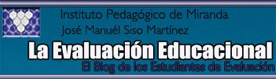 La Evaluación Educacional